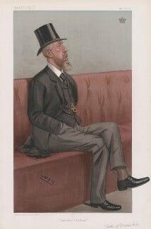 Spencer Compton Cavendish, 8th Duke of Devonshire ('Statesmen. No. 752.'), by Sir Leslie Ward - NPG D45118