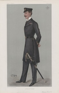 Haakon VII, King of Norway ('Princes. No. 26.'), by Sir Leslie Ward - NPG D45122