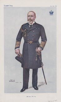 King Edward VII ('Sovereigns. No. 25.'), by Sir Leslie Ward - NPG D45123