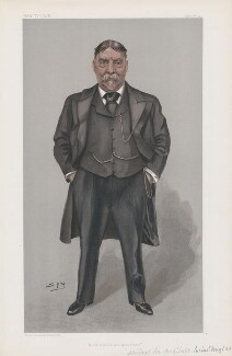 Sir Archibald Lucius Douglas ('Men of the Day. No. 843.'), by Sir Leslie Ward - NPG D45125