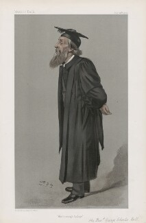 George Charles Bell ('Men of the Day. No. 844.'), by Sir Leslie Ward - NPG D45126