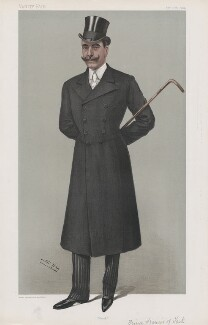 Prince Francis of Teck ('Princes. No. 27.'), by Sir Leslie Ward - NPG D45127