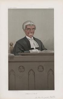 Sir Joseph Walton, 1st Bt ('Judges. No. 66.'), by Sir Leslie Ward - NPG D45128