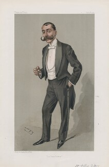Arthur Diosy ('Men of the Day. No. 862.'), by Sir Leslie Ward - NPG D45138