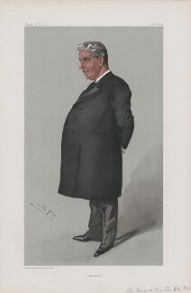 Sir Edmund Barton ('Men of the Day. No. 854.'), by Sir Leslie Ward - NPG D45140