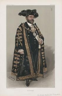 Sir Joseph Cockfield Dimsdale ('Statesmen. No. 755.'), by Sir Leslie Ward - NPG D45141