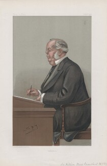 Sir William Henry Broadbent, 1st Bt ('Men of the Day. No. 855.'), by Sir Leslie Ward - NPG D45142