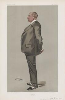 Sir Joseph Loftus Wilkinson ('Men of the Day. No. 858.'), by Sir Leslie Ward - NPG D45145