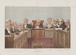 'Heads of the Law.', by Sir Leslie Ward - NPG D45146