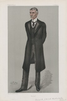 Sir Frederick Forestier-Walker ('Men of the Day. No. 863.'), by Sir Leslie Ward - NPG D45150