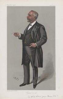 William James, Viscount Pirrie ('Men of the Day. No. 864.'), by Sir Leslie Ward - NPG D45152