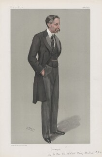 Sir Michael Henry Herbert ('Men of the Day. No. 865.'), by Sir Leslie Ward - NPG D45153