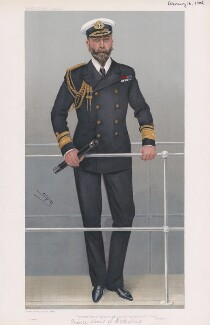 Louis Alexander Mountbatten, 1st Marquess of Milford Haven (Prince Louis of Battenburg) ('Men of the Day. No. 941.