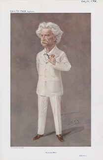 Mark Twain ('Men of the Day. No. 1118.