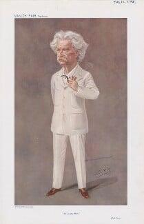 Mark Twain (Samuel Langhorne Clemens) ('Men of the Day. No. 1118.