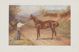 Unknown sitter ('Famous Racehorses. No. 3.