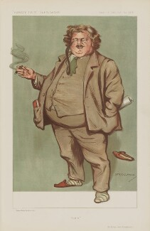G.K. Chesterton ('Men of the Day. No. 1309.