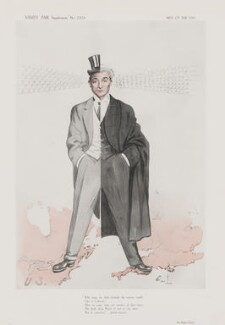 Rufus Isaacs, 1st Marquess of Reading, by 'Owl' - NPG D45718
