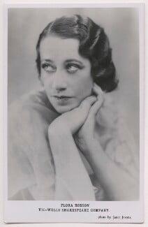Flora Robson, by Janet Jevons - NPG x198133