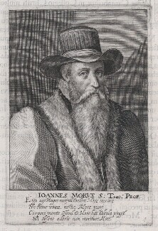 John More, by Magdalena de Passe, or by  Willem de Passe - NPG D45885