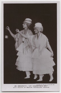 An Absurdity: 'St Valentine's Day' (Arts League of Service Travelling Theatre) (Judith Helen Hain (née Wogan-Brown)), by Madame Yevonde - NPG x198141