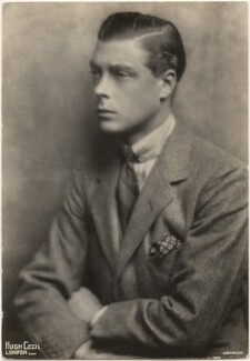 Prince Edward, Duke of Windsor (King Edward VIII), by Hugh Cecil (Hugh Cecil Saunders) - NPG x193298