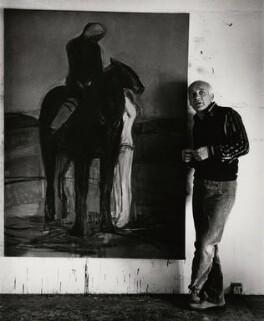 Karl Martin Weschke, by Anthea Sieveking - NPG x199124
