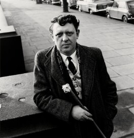 Anthony Burgess, by Anthea Sieveking - NPG x199132