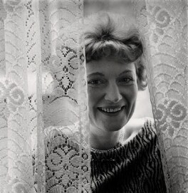 Dame Muriel Spark, by Anthea Sieveking - NPG x199138