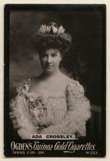 Ada Crossley, published by Ogden's - NPG x193101