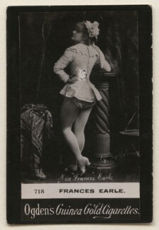 Frances Earle, by Edward Lyddell Sawyer, published by  Ogden's - NPG x193102