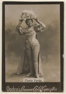 Florrie Forde (née Florence Flanagan), published by Ogden's - NPG x193103