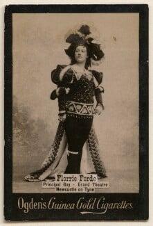 Florrie Forde (née Florence Flanagan), published by Ogden's - NPG x193104