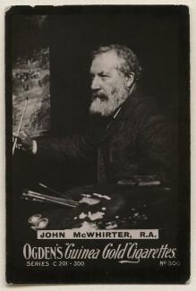 John MacWhirter (McWhirter), published by Ogden's - NPG x193105