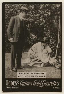 Walter Passmore; Agnes Fraser (Mrs Walter Passmore), published by Ogden's - NPG x193109