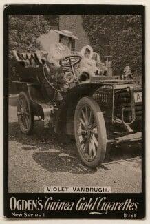Violet Vanbrugh (Violet Augusta Mary Barnes); Prudence Vanbrugh, published by Ogden's - NPG x193111
