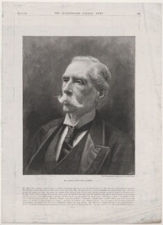 Alfred Austin, by Paul Hermann Naumann, after  James Russell & Sons - NPG D45896