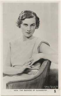Princess Alice, Duchess of Gloucester, by Dorothy Wilding, published by  Raphael Tuck & Sons - NPG x193125