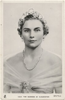 Princess Alice, Duchess of Gloucester, by Dorothy Wilding, published by  Raphael Tuck & Sons - NPG x193126