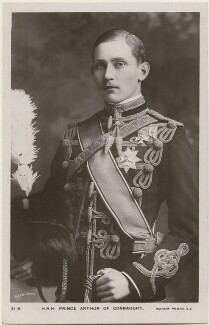 Prince Arthur of Connaught, by Lafayette, published by  Rotary Photographic Co Ltd - NPG x193147