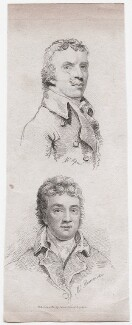 John Opie; John Bannister, published by James Cundee, after  John Opie, and after  Unknown artist - NPG D45904