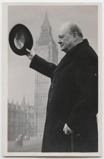 Winston Churchill, published by R.A. (Postcards) Ltd., circa 1949 - NPG  - © reserved; collection National Portrait Gallery, London