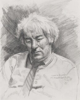 Seamus Heaney, by Peter Edwards, 1987 - NPG 7003 - © National Portrait Gallery, London