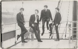 The Beatles (George Harrison; John Lennon; Paul McCartney; Ringo Starr), by Les Chadwick, for  Peter Kaye Photography - NPG x199158