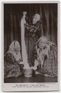 An Absurdity: 'The Old Wives' (Arts League of Service Travelling Theatre), by Madame Yevonde - NPG x198146