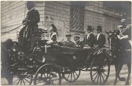 Group including King Edward VII and Victor Emmanuel III, King of Italy, by Unknown photographer - NPG x196904