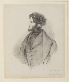 Alfred, Count D'Orsay, by Richard James Lane, published by  John Mitchell - NPG D45920