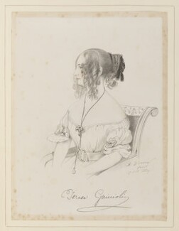Countess Teresa Guiccioli, by Richard James Lane, after  Alfred, Count D'Orsay - NPG D45922