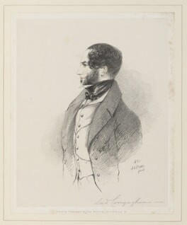 Francis Nathaniel Conyngham, 2nd Marquess Conyngham, by Richard James Lane, published by  John Mitchell, after  Alfred, Count D'Orsay - NPG D45923