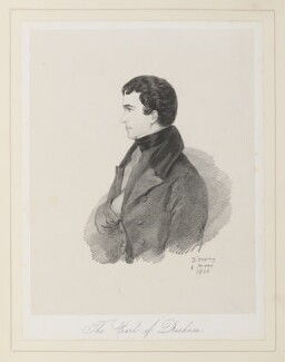 John George Lambton, 1st Earl of Durham, by Richard James Lane, after  Alfred, Count D'Orsay - NPG D45924